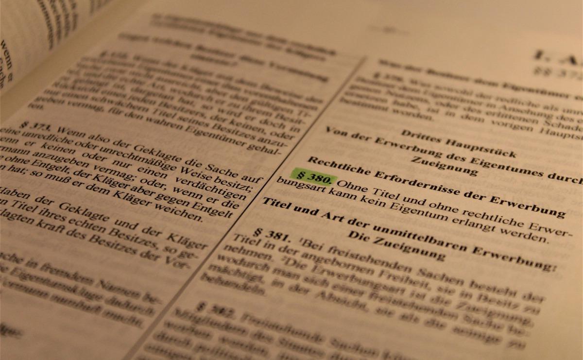 Gesetzliche Grundlage des Inkasso